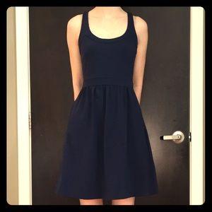 Cynthia Rowley Blue Fit & Flare Dress